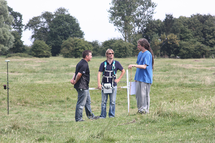 Britannia Team Geophysics Denny Abbey